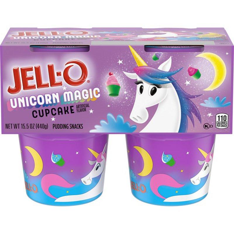 Jello Unicorn Pudding just .01 at Kroger